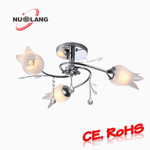 2017 Modern hotel decor Chandelier/ simple style glass pendent lamp
