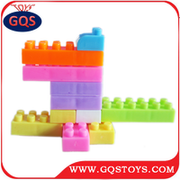 Children Educational Plastic Building connecting Blocks Toy