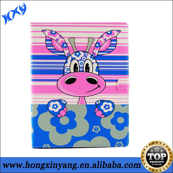 For iPad Case 2 3 4 cartoon design with smart function.