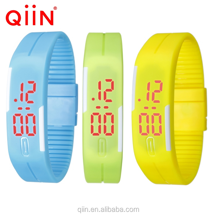 AD8088 HOT Sports Bracelet LED Watch 2015 promotion led silicon watch