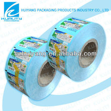 Safety food grade laminating packaging plastic film for chutty