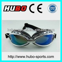 high quality anti scratch color lens motorbike racing glasses