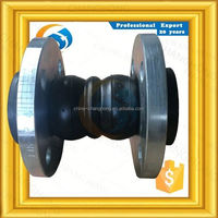 JIS10K double arch epdm rubber expansion joint flexible pipe coupling