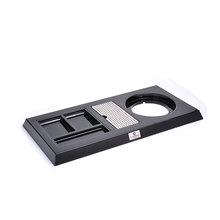 Easton black welcome plastic tray+hotel trays