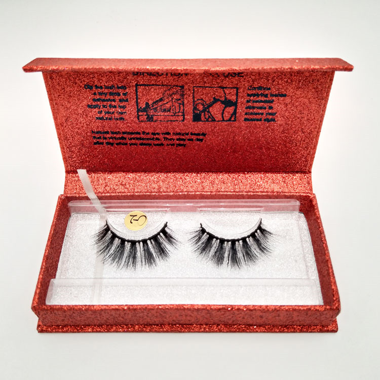 Hot Sale <strong>Cotton</strong> Bands Faux Mink Silk False Eyelashes With Factory Price