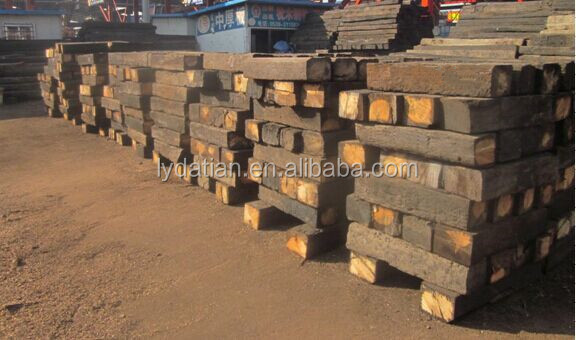 Reclaimed railway sleepers for sale