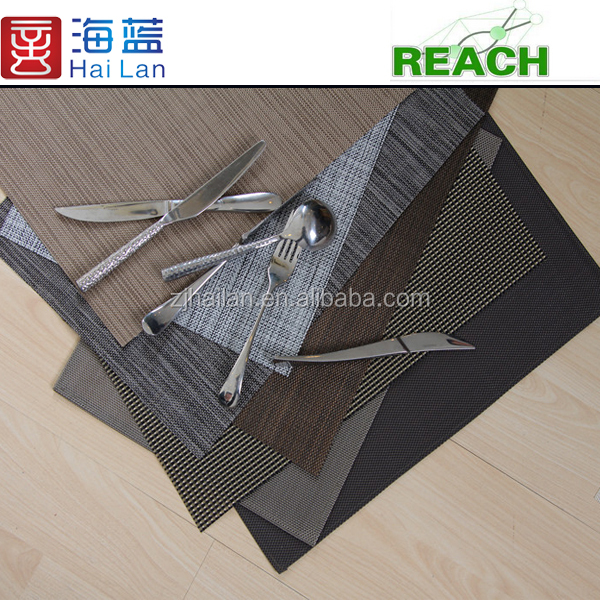 woven pvc placemats indoor ground mat beach chair rattan by roll vinyl pvc non slip bath room mat