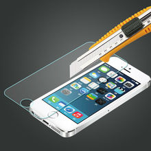 Premium tempered glass 3d screen protector for iphone, for apple for iphone 5 screen guard