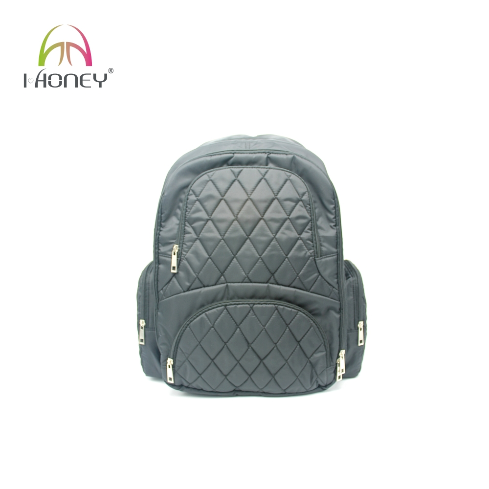 Mens high quality large diaper baby bag backpack with stroller straps