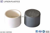 PVC Plastic JIS/ASTM/AS/ ISO Pipe end Cap Dimension
