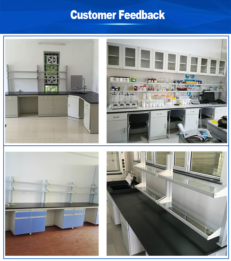 Great quality Laboratory Island central table bench lab equipment furniture
