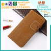 Fast delivery crystal leather wallet case for iphone 5c made in China