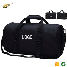 BINYI Foldable Small Duffel Bag Lightweight for Sports, Gyms, Yoga, Travel, Overnight, Weekender, 20inches