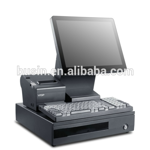 Busin KD5-B2+ POS machine for supermarket with customer vfd display pos