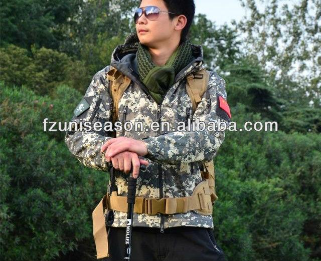 Winter Camouflage Woodland Jackets