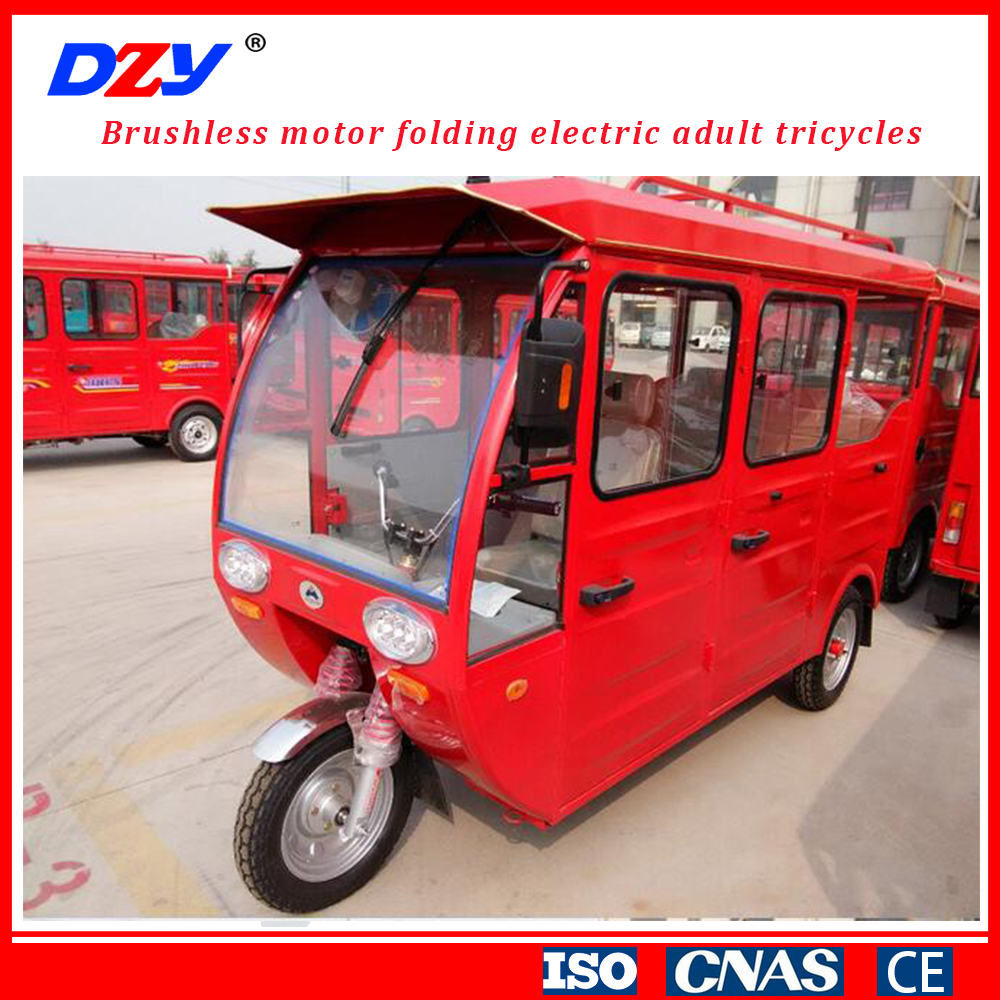 adult Use Three Wheel Motor Cycle electric Motorized Tricycle