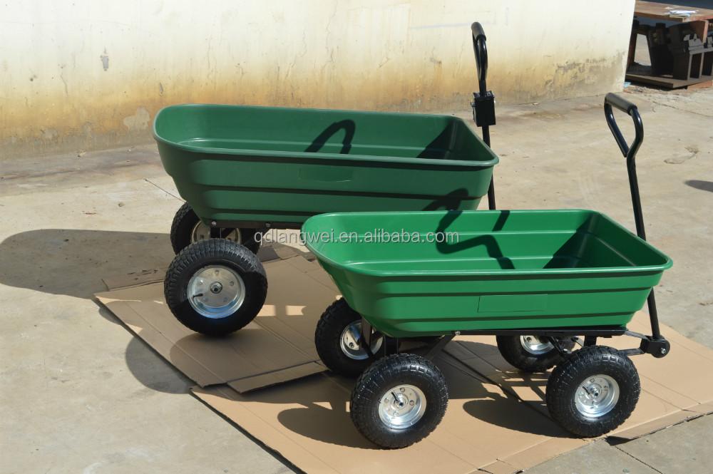 Garden Tractor Wagon : Cheap garden cart dump atv trailer swivel