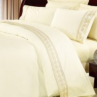 KOSMOS classical lace embroidery polycotton bed sheets importers in canada