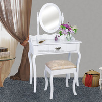 High Sale Retro Chic Mirrored Dressing Table
