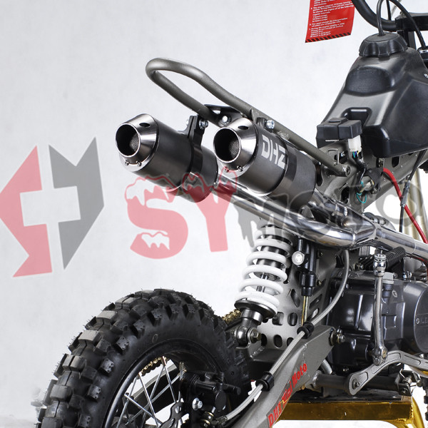Big Bore Twin KLX Exhaust muffler for pit bike