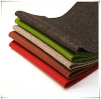 wholesale needle punched color polyester felt fabric