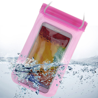 New Design PVC Waterproof Mobile Phone Bag for Swimming