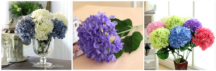 Factory Direct Artificial Flowers White Purple Silicone Chinese Wisteria Whole For Wedding