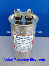 metal cases CBB65 Air conditioner run motor capacitor