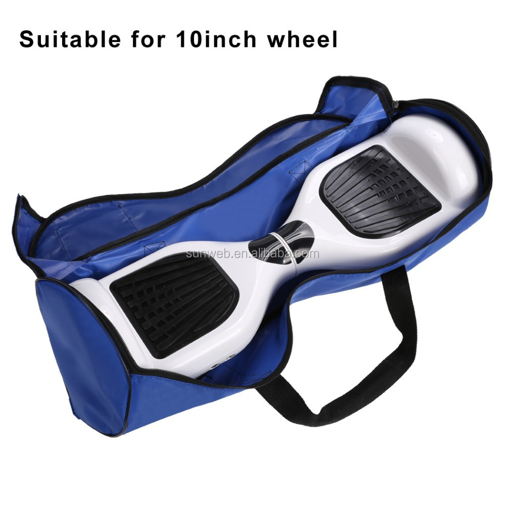 10 inch Waterproof New 2 Wheels Self Balancing Electric Smart Scooter Bag Handbag Skateboard Carry Bag SV029079