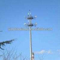 GSM Antenna Telecommunication/Communication Monopole Tower