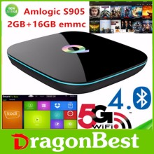 best selling High Quality Android 5.1 Tv Box Q box Kodi 2gb Ram,16gb Rom Amlogic S905 Kodi Tv Box QBOX