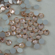 SS6,Lt,peach nonhotfix rhinestone for nailart