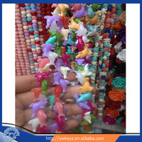 jewelry bead, dolphin bead, coral flowers beads multi color