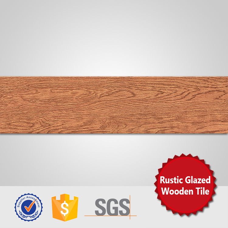 Glazed rustic floor tiles 150x600 ceramic tile wood grain