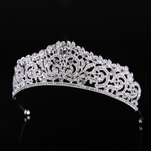 2017 classic silver crown bride's wedding dress accessories bride headdress