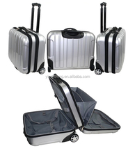 PC/ABS Trolley Luggage Laptop Case 17 inch