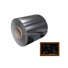 PPGI Raw metal sheet steel coil for grid line whiteboard greenboard with cover film
