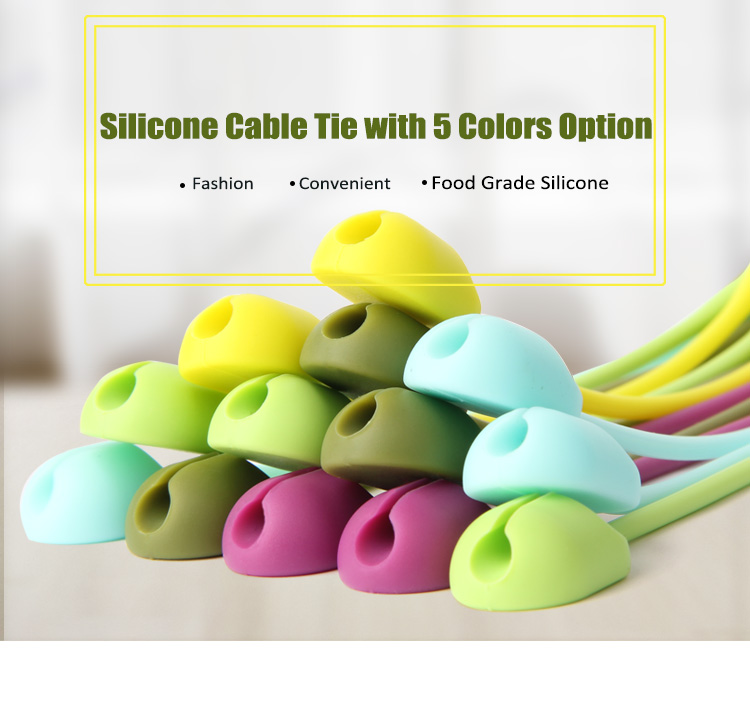 HIgh quality silicone Twist <strong>Tie</strong> / silicone cable <strong>tie</strong>/ silicone cable package <strong>tie</strong>
