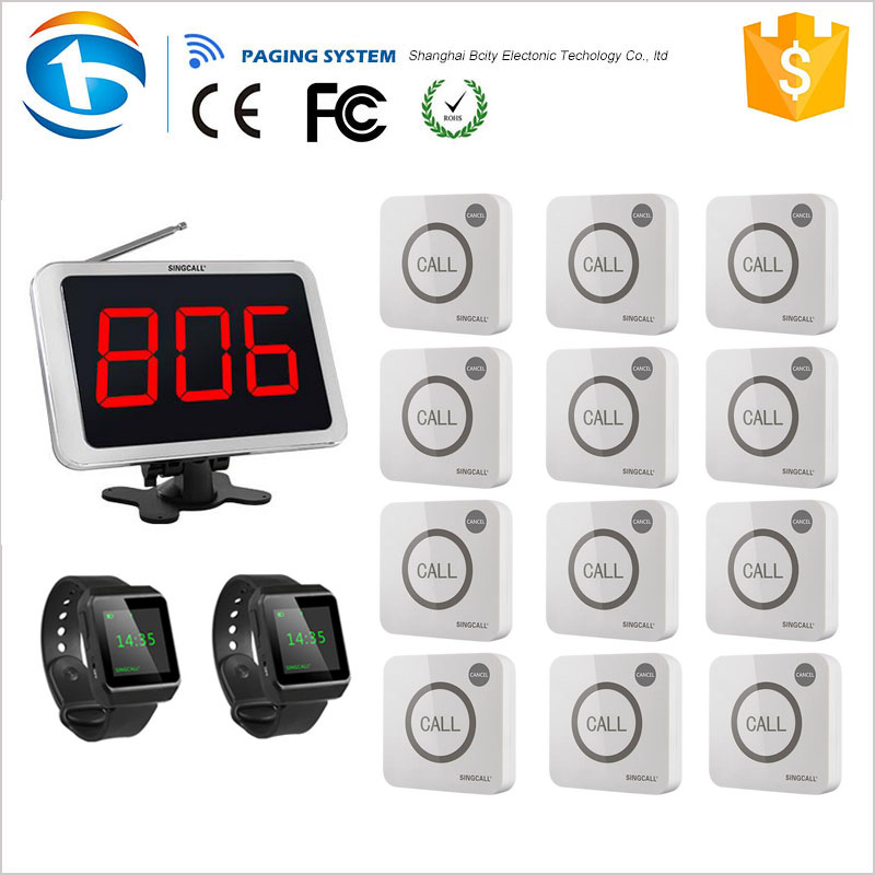 Perfect Device Led Number Call System Waiter Calling for Restaurant