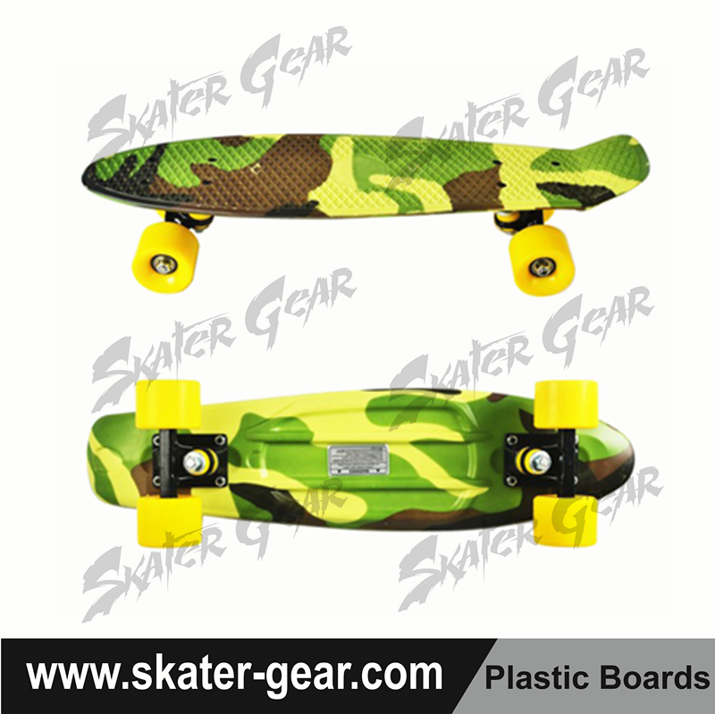 SKATERGEAR fiberglass skateboard replica carver plastic skateboard customized skateboard