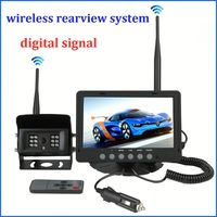 best price for waterproof & digital signal wireless Truck reverse camera system