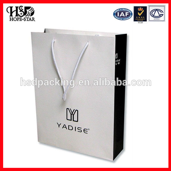 Wholesales Fashional Custom Printed Luxury Gift Shopping Big Strong Paper Bags with Your Own Logo
