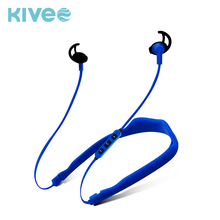Factory wholesale price 200mAh plastic rubber neckband bluetooth v4.2 mobile phone bluetooth stereo headset