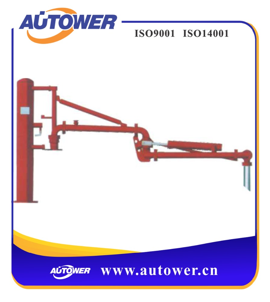 liquid chlorine flow arm for loading unloading equipment platform at petroleum tank farm chemical plant use loading arm