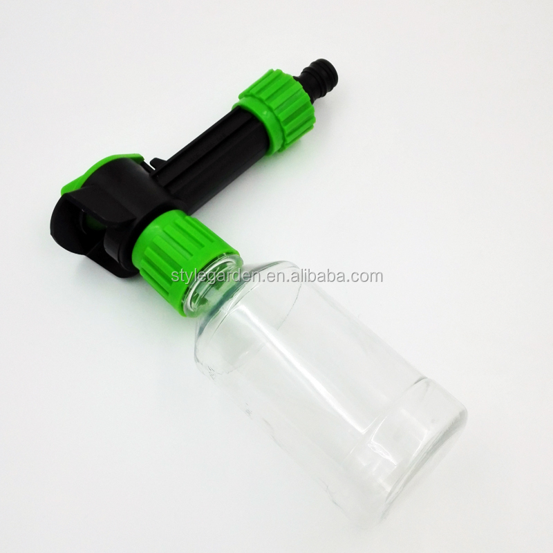Plastic Garden Bottle Hose End Sprayer