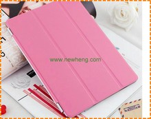 Three Stand Folding Book Flip Magnetic Cover Case for iPad 2/3/4