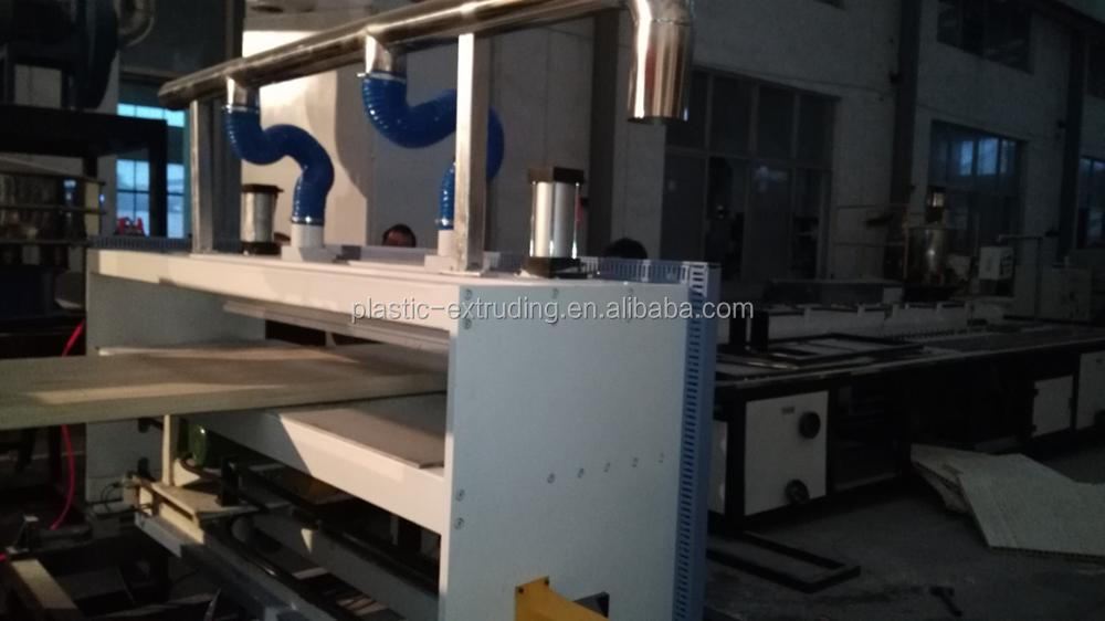 pvc wpc door board panle frame machine production line