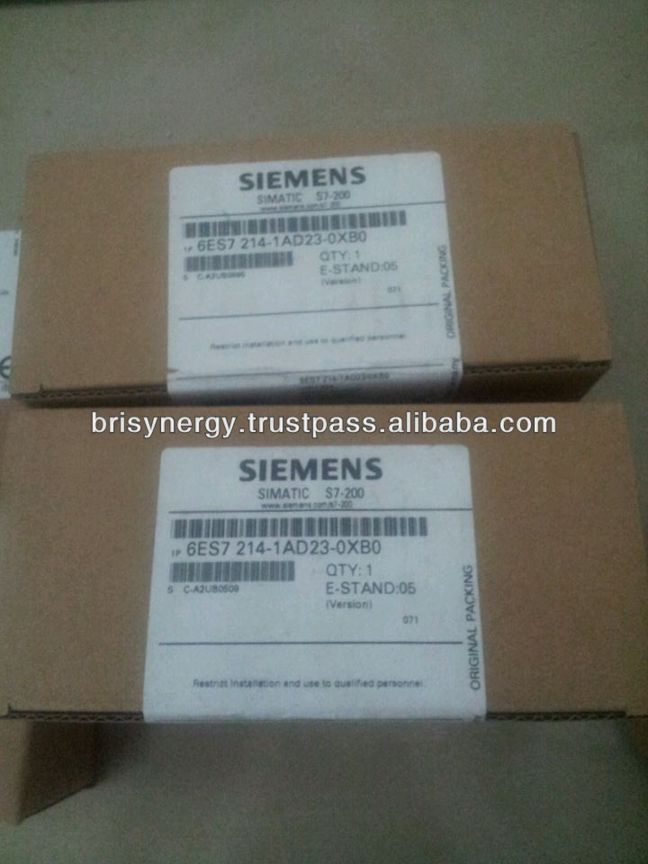 Siemens CPU Module 6ES7214-1AD23-0XB0 SIMATIC S7-200 CPU 224 COMPACT UNIT DC POWER SUPPLY Brand New