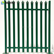British Standard 1722 antique easy to install 4 metres at railway use Palisade Security Fencing