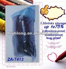 Industrial Vacuum Clear Plastic Zippered Nylon Storage Bags